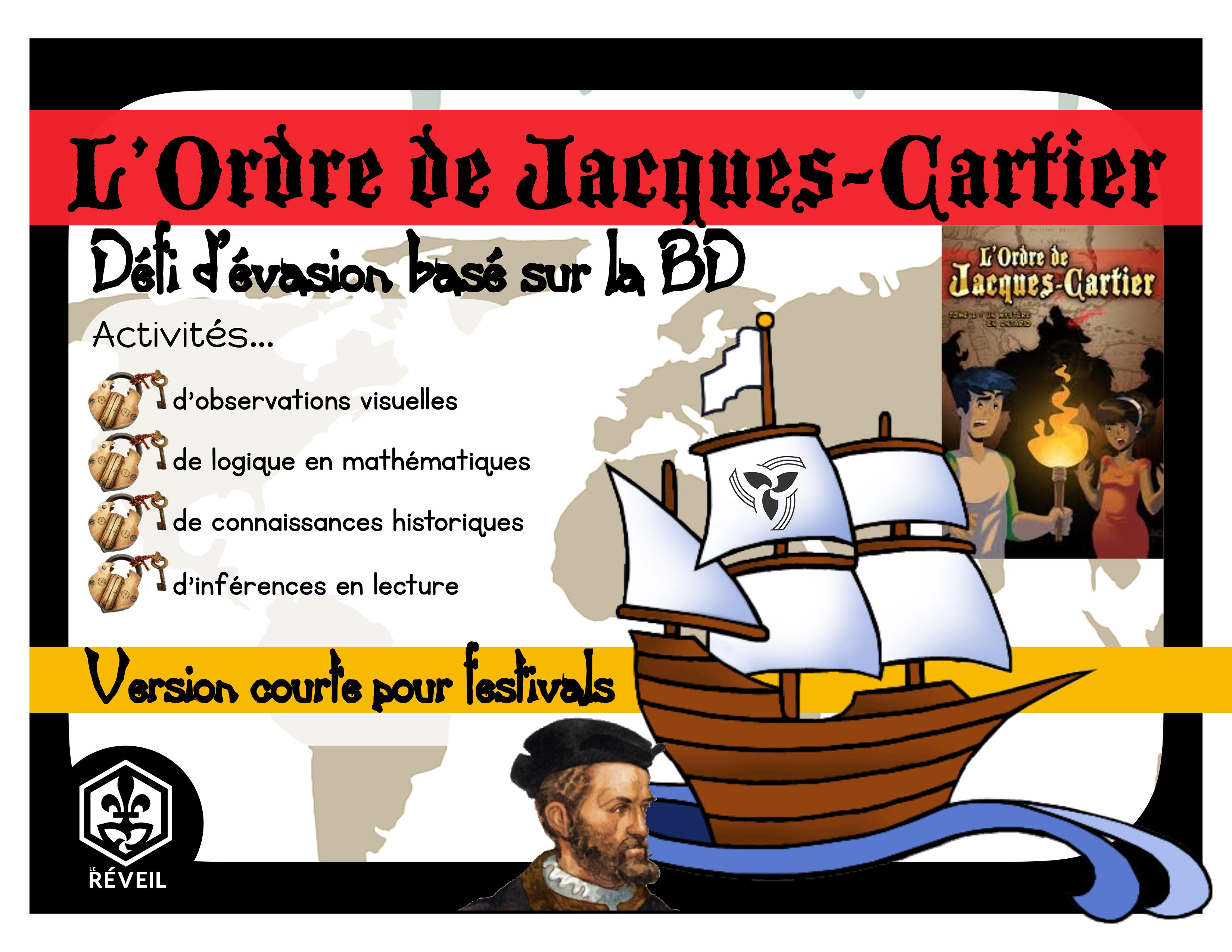L'ordre de Jacques-Cartier Festival